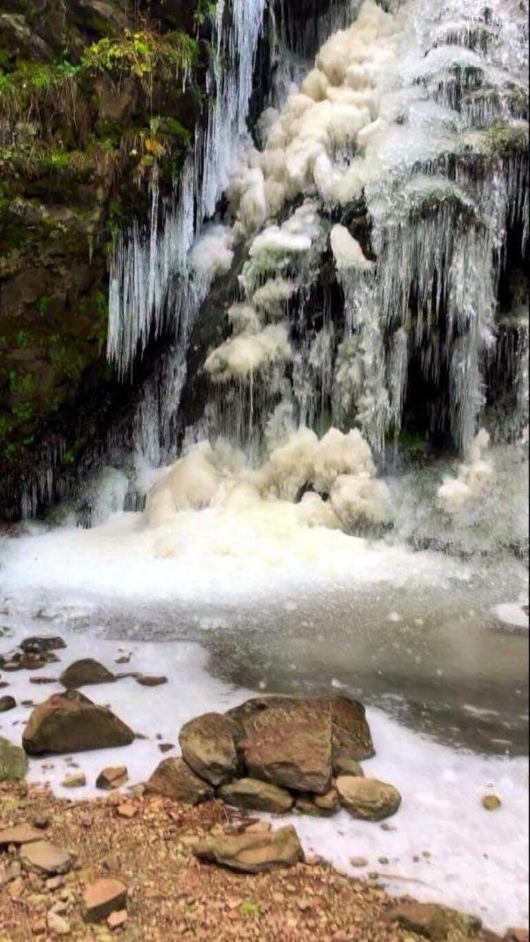 Bolu buz kesti Eksi 32yi gördü, en soğuk il oldu